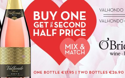 OBriens Cava Valentines Offer