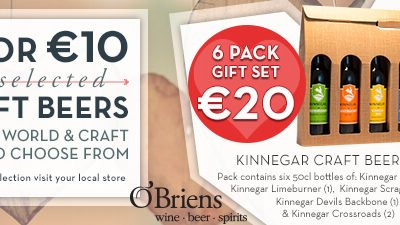 OBriens Valentine Craft Beer Promotions