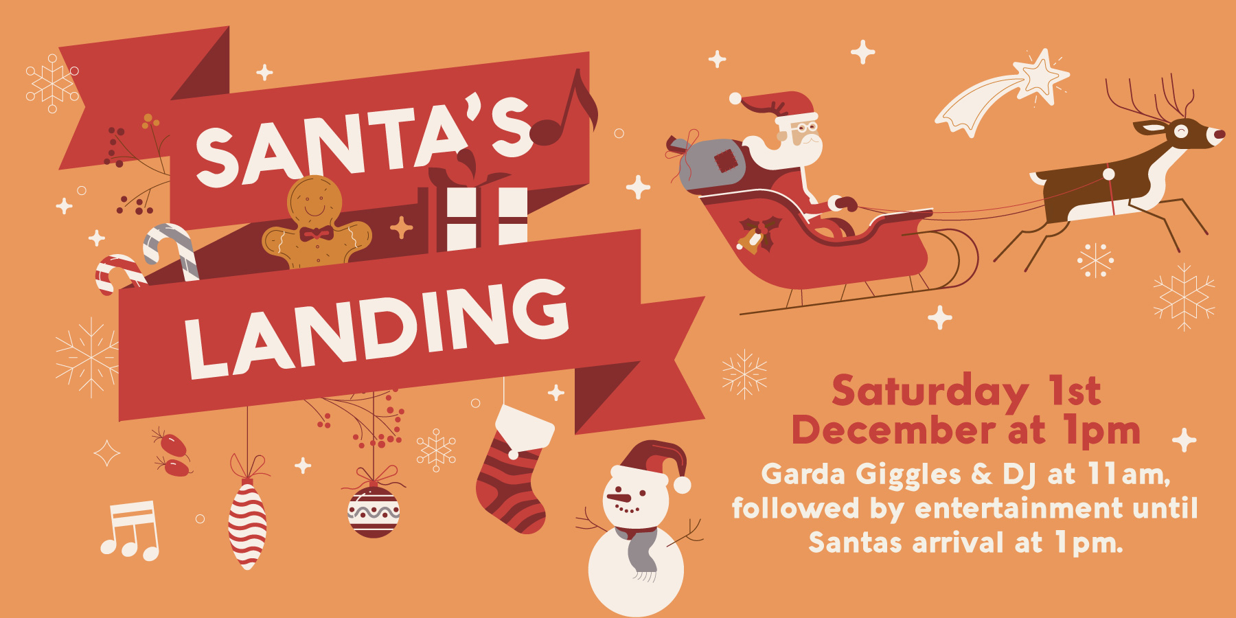Santa's Landing in CityWest Shopping Centre this Christmas